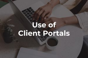 Use of Client Portals